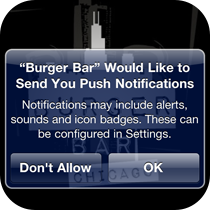 push notifications help keep your customers informed